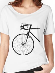 Crescent Bike Black Women's Relaxed Fit T-Shirt