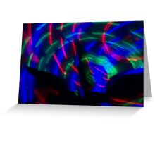 Light in Movement 10 Greeting Card