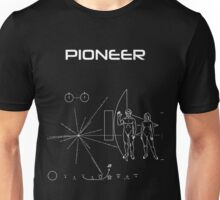 Pioneer Program - White Ink Unisex T-Shirt