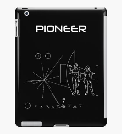 Pioneer Program - White Ink iPad Case/Skin