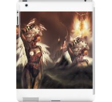 Ambient Electra [Digital Figure Drawing...Mirrored version] [With Centre-piece] iPad Case/Skin