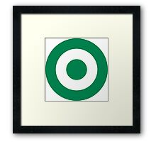 Nigerian Air Force - Roundel Framed Print