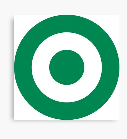 Nigerian Air Force - Roundel Canvas Print