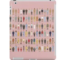 The Characters of Wes Anderson iPad Case/Skin