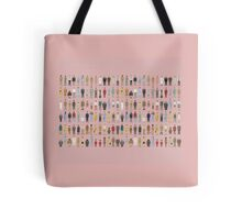The Characters of Wes Anderson Tote Bag