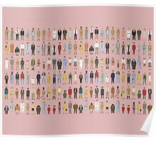 The Characters of Wes Anderson Poster