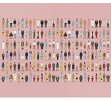 The Characters of Wes Anderson Photographic Print