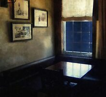 Table in Moonlight and Blue by RC deWinter