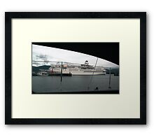 passing by.. Framed Print