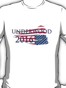 Frank Underwood 2016 USA Flag T-Shirt