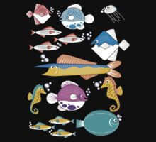 Happy Little Fishes Kids Tee