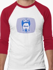 Frida Kahlo 3D Monster Mashup Men's Baseball ¾ T-Shirt