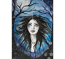 Moon Maiden Photographic Print