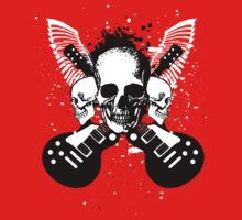 Skull and Guitars by SonicContours
