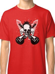 Skull and Guitars Classic T-Shirt