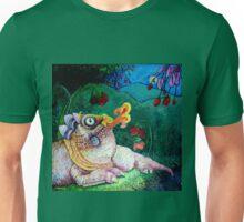 Flower Dragon Unisex T-Shirt