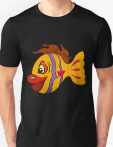 Smiling cartoon fish T-Shirt