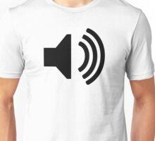 Speaker symbol Unisex T-Shirt