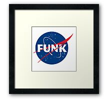 Space Funk Framed Print