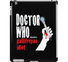 Gallifreyan Idiot. iPad Case/Skin