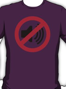 No noise music T-Shirt