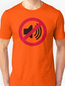 No noise music Unisex T-Shirt