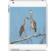 I Was Here First iPad Case/Skin
