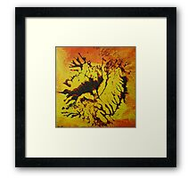 """Savannah"" original artwork by Laura Tozer Framed Print"