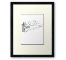 Napoleon Sega - White Framed Print