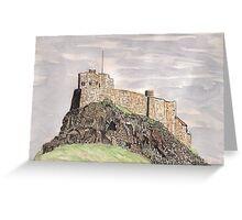 Lindisfarne Castle Greeting Card