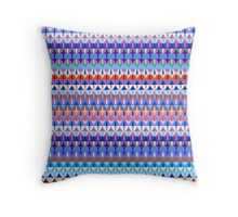 Repeating geometrical figures  Throw Pillow