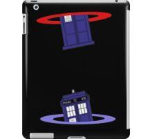 Police Box in a Portal. iPad Case/Skin