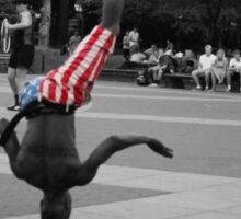 New York street performer Sticker