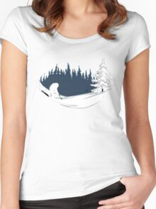 Abominable Golf Women's Fitted Scoop T-Shirt