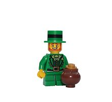 LEGO Leprechaun with a Pot of Gold by jenni460