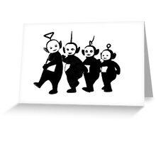 Teletubbies Greeting Card