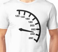Racing car speed Unisex T-Shirt