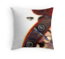 It's all in the bass  Throw Pillow