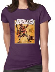 Bounty Hunters of the Outer Rim Womens Fitted T-Shirt