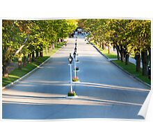 Cadotte Ave Leading to Grand Hotel on Mackinac Island Poster