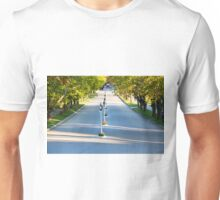 Cadotte Ave Leading to Grand Hotel on Mackinac Island Unisex T-Shirt