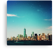 View of New York Canvas Print