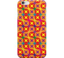 vibrant pattern in warm tones iPhone Case/Skin