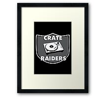 Crate Raiders Framed Print