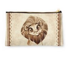 Doodles Series - Lion Pouch  Studio Pouch