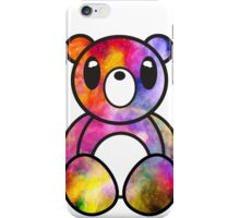 Glitchy Bear Chalky Glitch iPhone Case/Skin