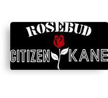 Citizen Kane - Rosebud Canvas Print