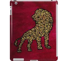 Geo-Lion iPad Case/Skin