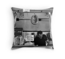 il salumiere Throw Pillow