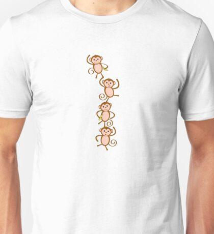 Monkey Tower Unisex T-Shirt